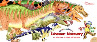 Dinorsaur Book Front and Rear Covers v3.p65
